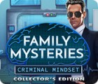 Family Mysteries: Criminal Mindset Collector's Edition spill