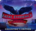 Fatal Evidence: Art of Murder Collector's Edition spill