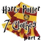 Harry Potter 7 Clothes Part 2 spill