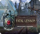 Mystery Trackers: Fatal Lesson Collector's Edition spill